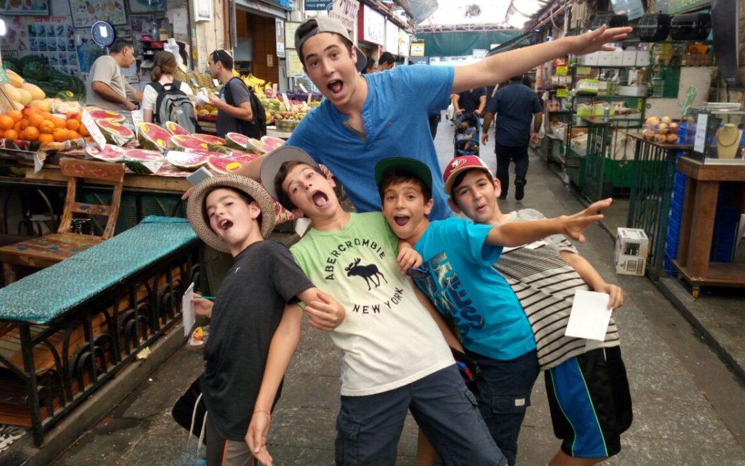 Sukkot ScaVentures in Jerusalem, Tel Aviv and Tzfat