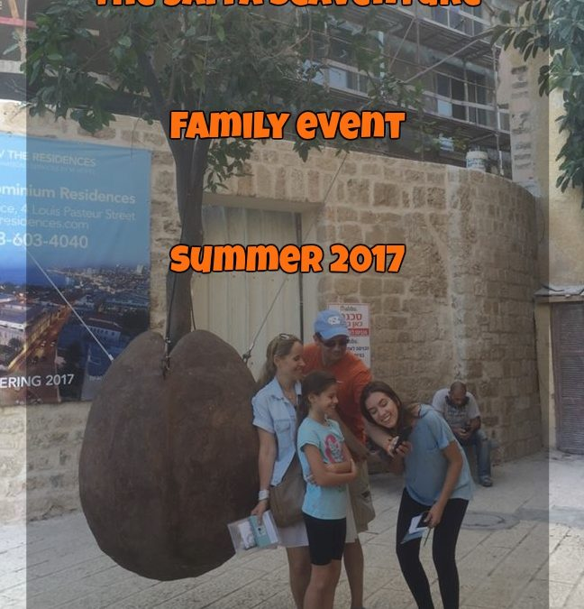 The Jaffa Scaventure Family Summer Event 2017