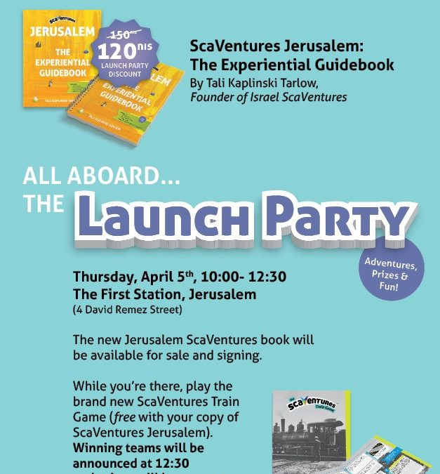 ScaVentures Jerusalem Guidebook Launch Party
