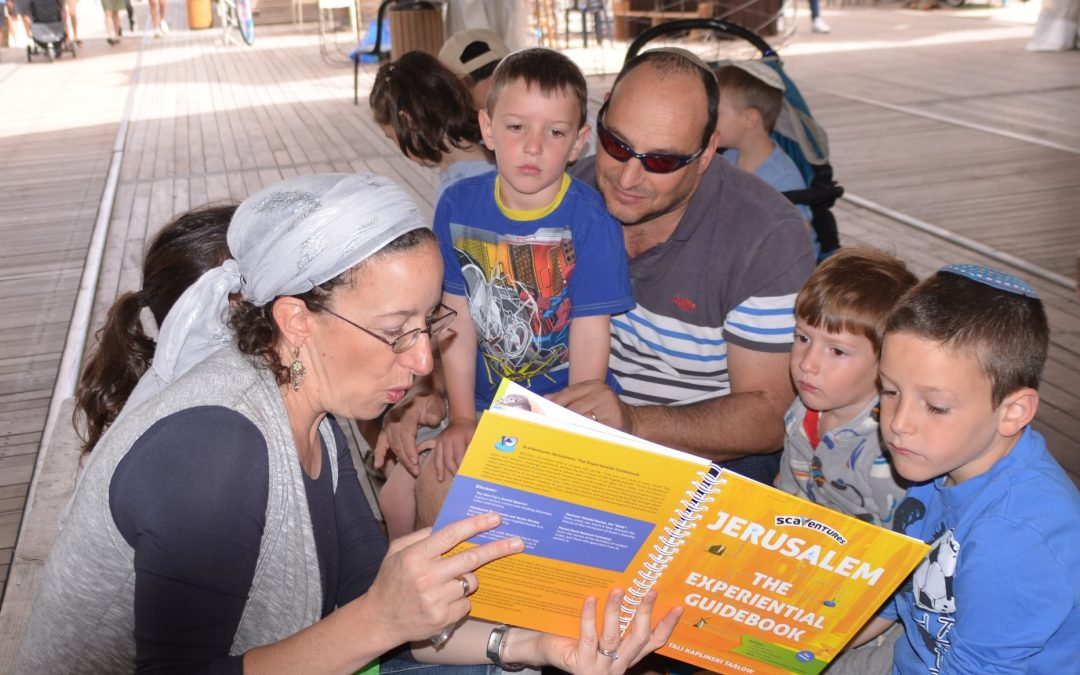 Where can you get your ScaVentures Jerusalem Experiential Guidebook?