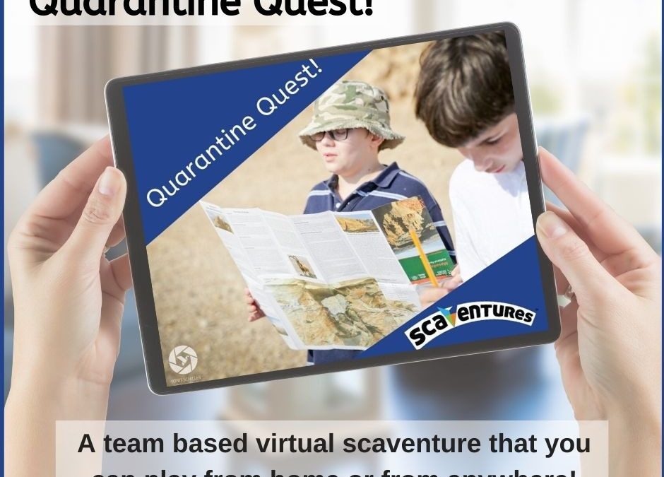 Quarantine Quest 2020 for Pesach, Yom HaÁtzmaut and beyond P!