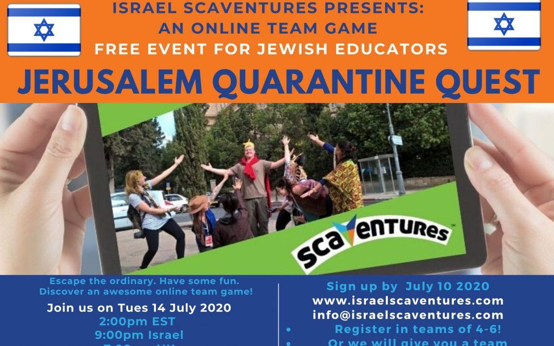 Jerusalem Quarantine Quest