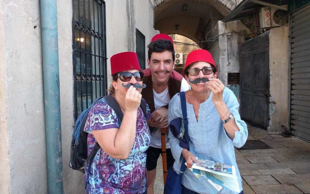 fake mustaches in jaffa
