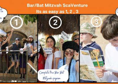 Bar/Bat Mitzvah ScaVentures!